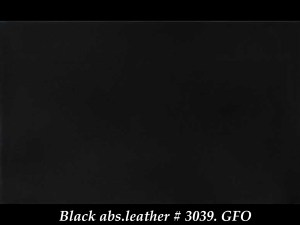 BLACK ABS.LEATHER 3039