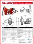 Fillrite-FR1200-Specifications