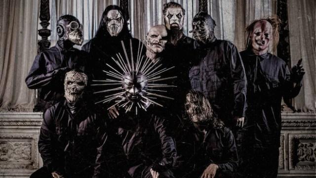Slipknot ville kun fotograferes af særligt indbudte - det var ikke os. Så her er et hyggeligt familieportræt i stedet for!