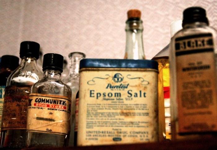 Recepten om je te laten stralen; Epsomzout