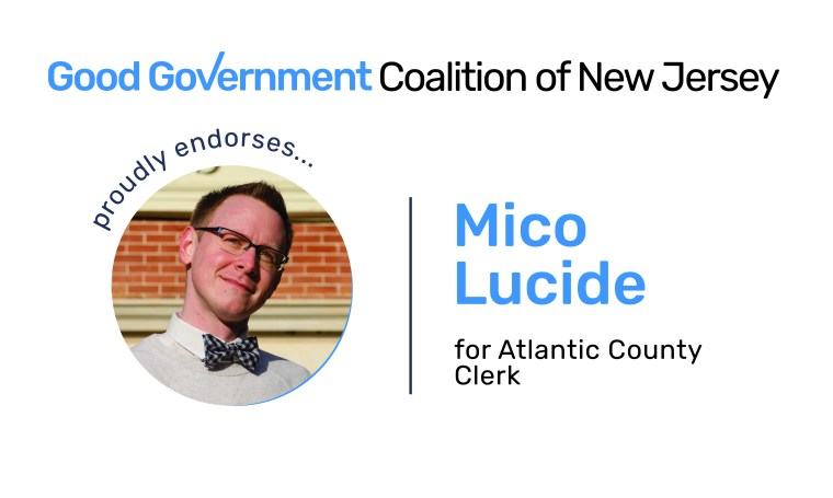 Mico Lucide for Atlantic County Clerk