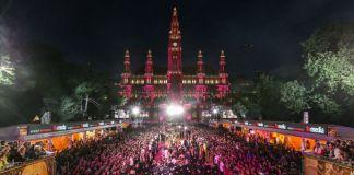 Rathausplatz beim Life Ball