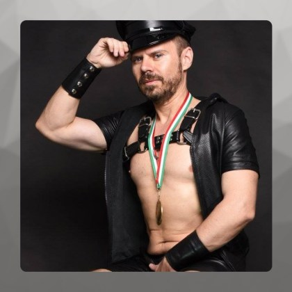 Neri, Mister Leather Italy 2016