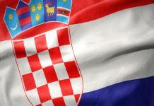 Flagge von Kroatien