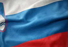 Flagge von Slowenien
