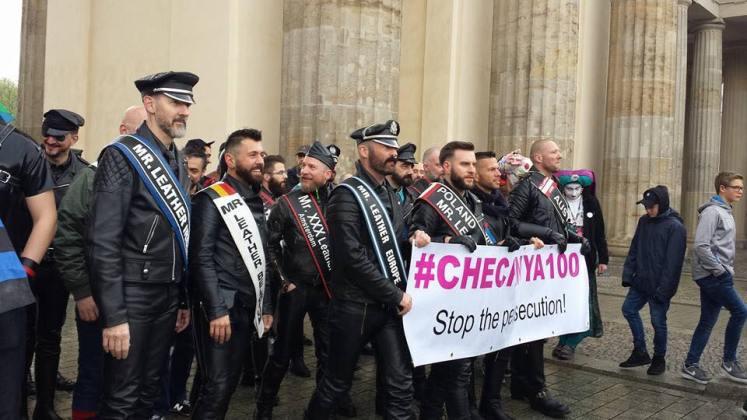 Fetisch-Community: Demonstration gegen Schwulen-Verfolgung
