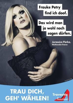 Travestie für Deutschland: Plakat