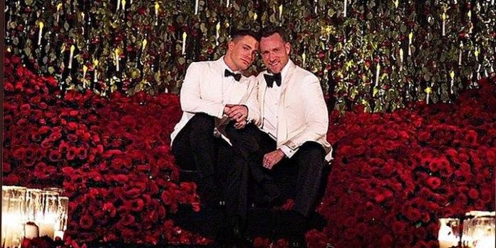 Colton Haynes Hochzeit