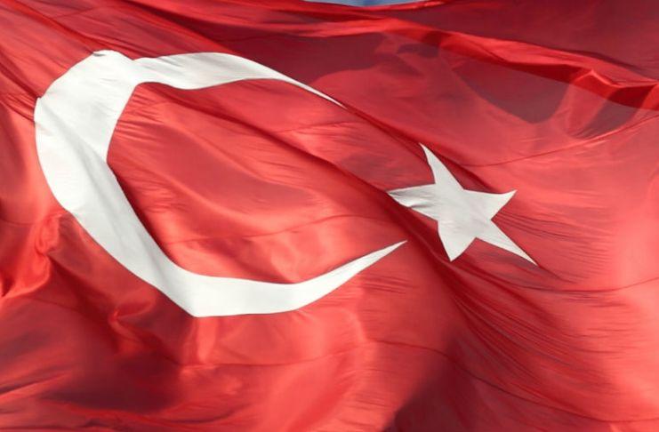Flagge der Türkei