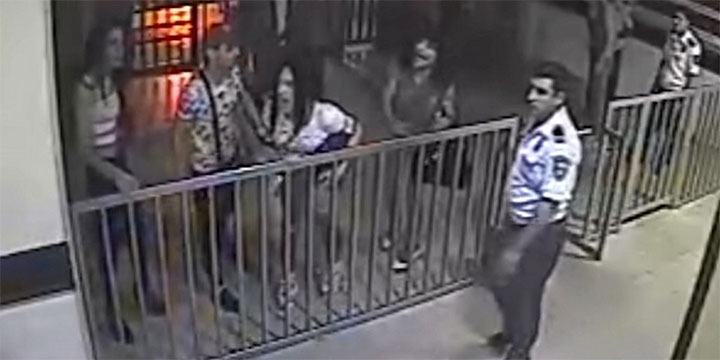 Angriff auf armenische Polizeistation durch LGBT