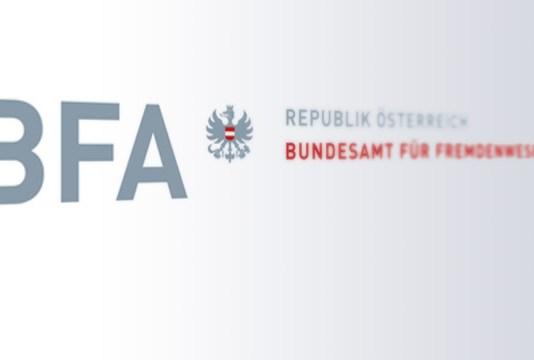 Logo Bundesamt für Fremdenwesen und Asyl (BFA)
