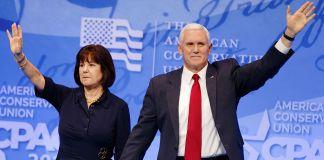Karen und Mike Pence