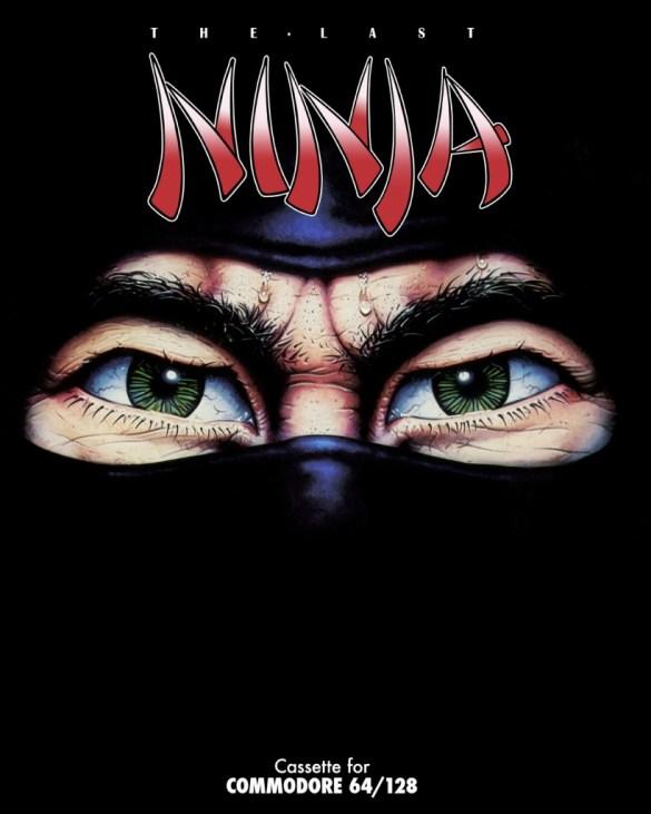 The Last Ninja c64 box art