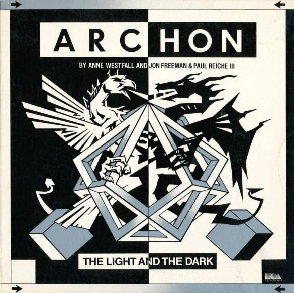 Archon: The Light and The Dark c64 box art