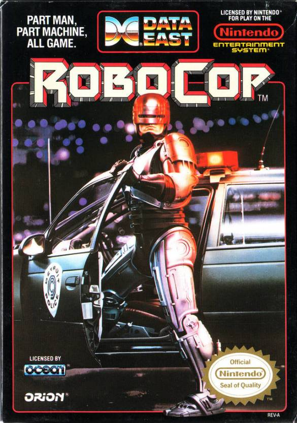 RoboCop NES box art