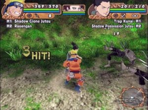 Naruto Uzumaki Chronicles 2 ps2 screenshot