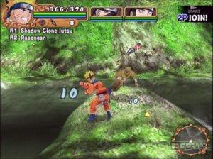 Naruto Uzumaki Chronicles 2 ps2 screenshot