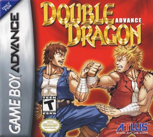 Double Dragon Advance game boy advance box art