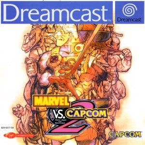 Marvel vs. Capcom 2: New Age of Heroes dreamcast box art