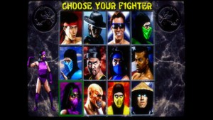 Mortal Kombat II arcade screenshot
