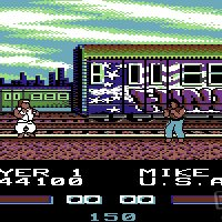 Street Fighter c64 screenshot