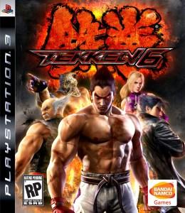 Tekken 6 PS3 box art
