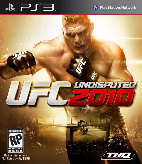 UFC Undisputed 2010 box art PS3