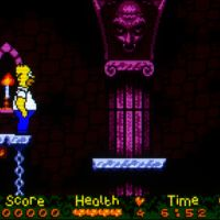 The Simpsons: Night of The Living Treehouse of Horror Game boy color screenshot