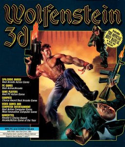 Wolfenstein 3D box art