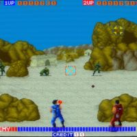 Cabal on Arcade screenshot