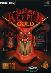 Dungeon Keeper Gold box cover