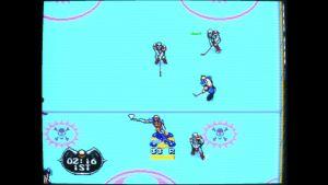 Mutant League Hockey mega drive screenshot