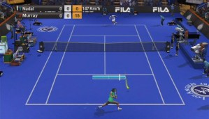 Virtua Tennis 2009 wii screenshot