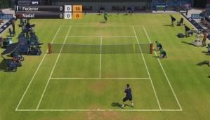 Virtua Tennis 2009 wii screenshot
