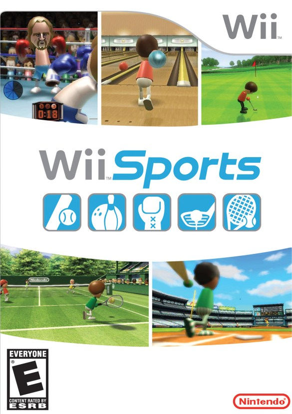 Wii Sports box cover art