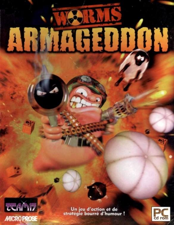 Worms Armageddon PC box art