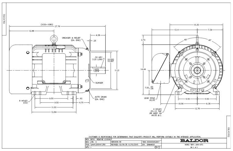 nema c face motor dimensions | Newmotorspot.co