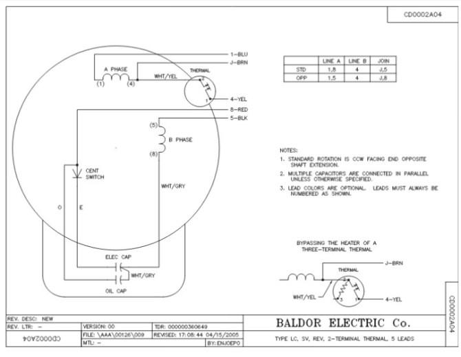 baldor motor wiring diagrams single phase  dcc wiring
