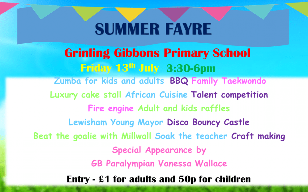 The Summer Fair is coming!