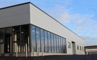 The AluFoldDirect Aluminium Glazing Design Centre Features Jack Aluminium's Commercial Doors