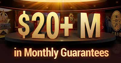 Over $20M in guarantees monthly