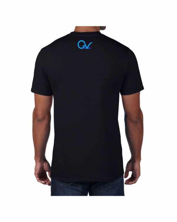 Good Vibes Purple GV Black T-shirt