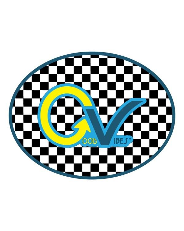 Good Vibes Yellow Blue Black