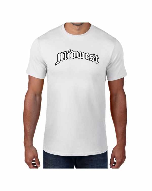 Good Vibes Midwest White T-shirt