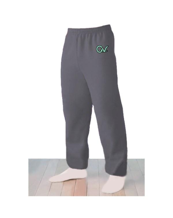 Good Vibes Logo Dark Gray Sweatpants
