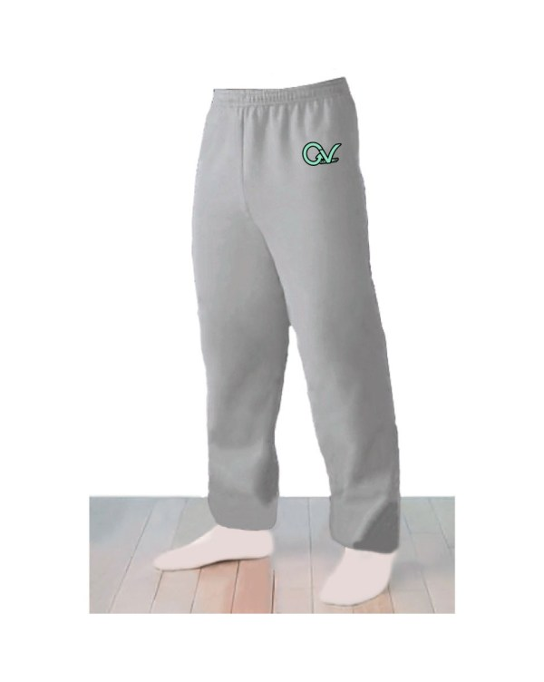 Good Vibes Logo Light Gray Sweatpants