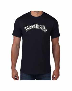 Good Vibes Northside Logo Black T-shirt