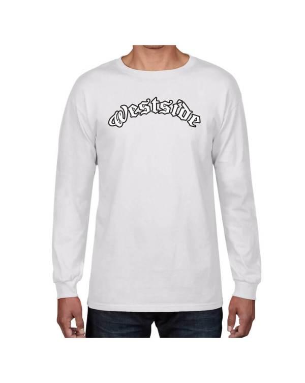 Good Vibes Westside White Long Sleeve T-shirt