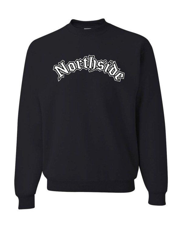 Good Vibes Northside Logo Black Sweatshirt
