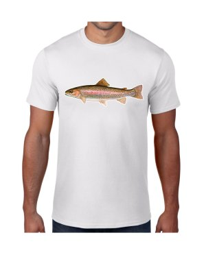 Rainbow Trout T-shirt 5.6 oz., 50/50 Heavyweight Blend